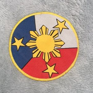 Other - Philippines Flag  Embroidered Patch NEW
